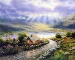 """Thomas Kinkade"" A depiction of Heaven"