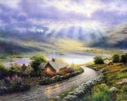"""Thomas Kinkade"" A depiction of Heaven"