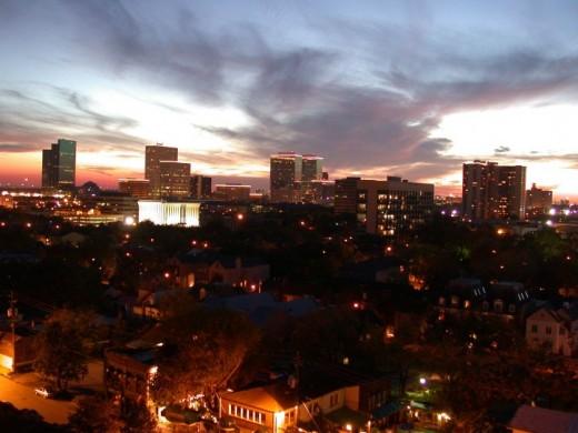 Greenway Plaza region of Houston