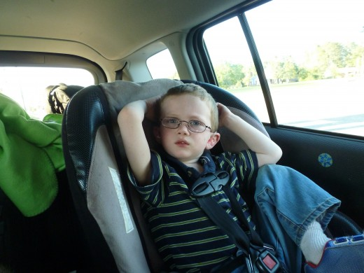 Our four year old son didn't sleep a wink on the trip to Myrtle Beach. The DVD player was an absolute necessity on this trip!