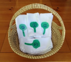 Earth Day Crafts for Kids: Design Your Own Cloth Napkins