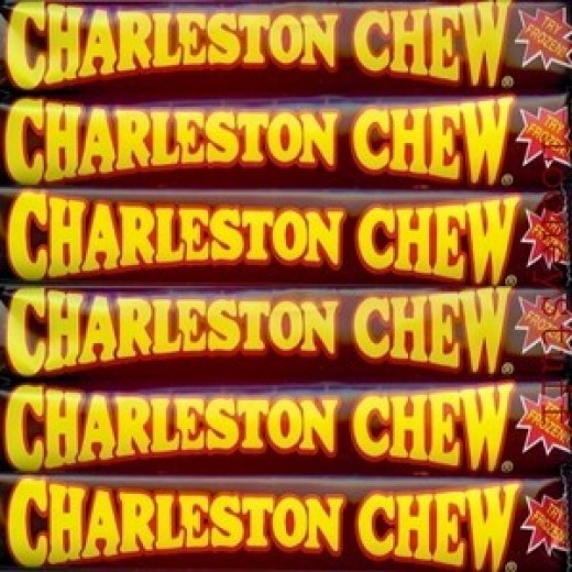 I'm thinking...Charleston Chew...
