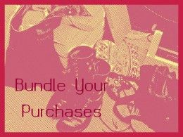 Bundle your purchases for further savings.