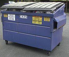A convenient Dumpster...