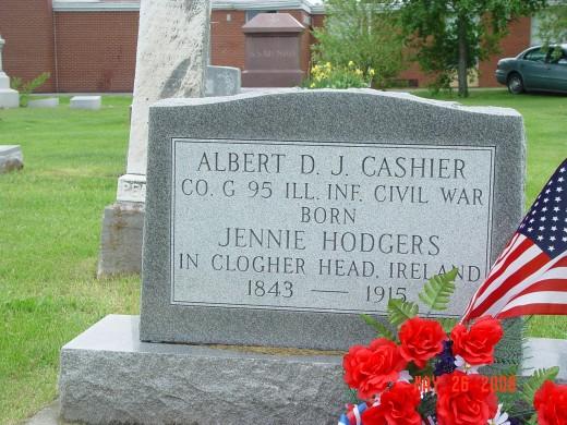 Albert Cashier's Grave