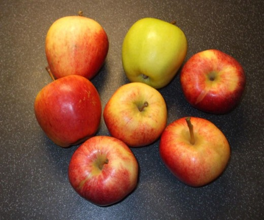 Apples have many health improving antioxidants.