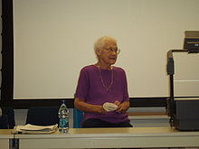 Barbara Gittings at UCLA on November 17, 2006.