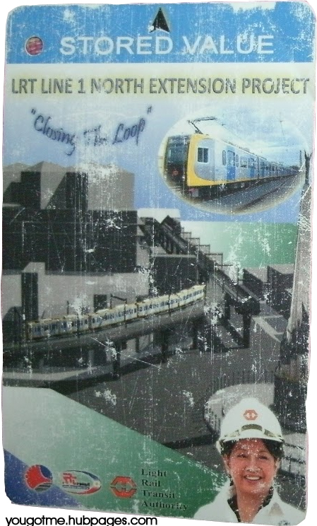 Stored Value Card for LRT Line 1