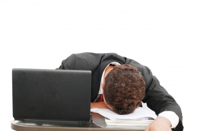 Work stress can cause headaches