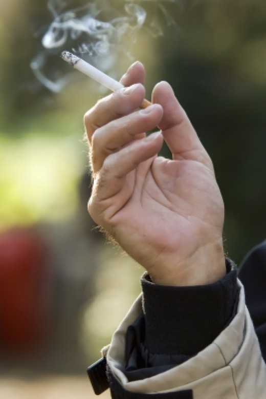 Smoking increases your risk of heart problems