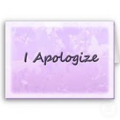 A Woman's Apology To Men