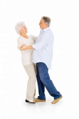 Dancing is one activity common in adult care facilities.