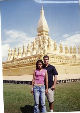 This Photo Was Taken At A Temple In Vientiane, The Capital City Of Laos, Back In 2011