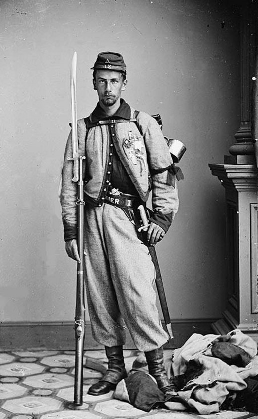 Private Francis Brownell of the Zouave Regiment