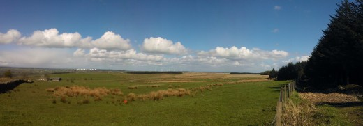 Menwith Hill with the Lumia 800