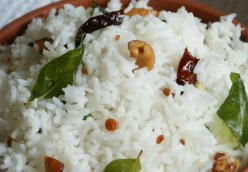 How to make tasty Coconut Rice or Thengai Sadam South Indian Tamilnadu or Madras Style Recipe