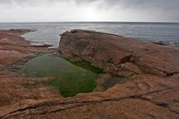 Coastal rocks on the Gulf of Bothnia