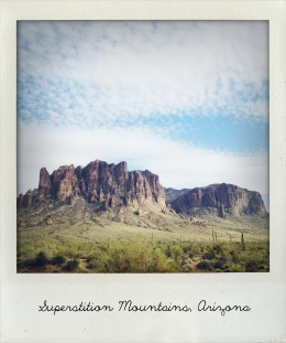 view from my hometown, Apache Junction