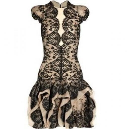 Alexander McQueen dress, valued at $3000.00