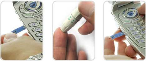 With the great help of the inventors they invented a   glucophone which is a all in one product that combines a cell phone with a blood glucose monitor.This device makes it easier to monotor blood sugar levels.