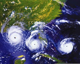 Hurricane Andrew Was One Of The Last Major Hurricanes To Hit The USA.