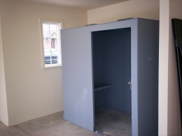 Here Is An Above Ground Safe Room. The Door Has Not Yet Been Installed.