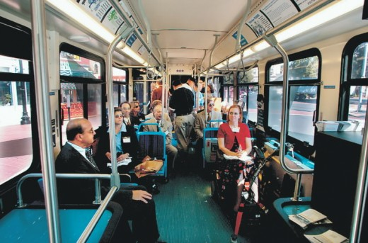 Use of public transportation can reduce the travel costs considerably