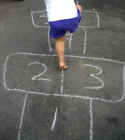 When was hopscotch invented?
