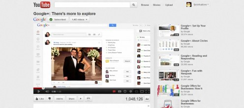 Google's new G+ video for those who have yet to learn about Google Plus, and its latest updates to its social networking platform