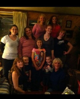 The ladies of the Clan. Family gatherings are important, have lots of them.