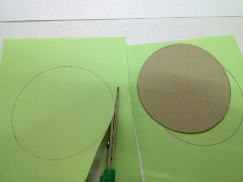 cut out circles, 2 sets