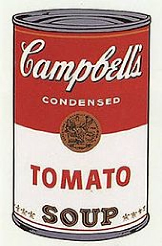 Andy Warhol - Campbell Soup Tin.