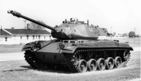 M41 walker bulldog tank