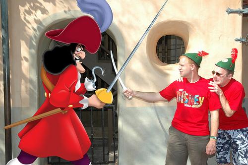 Captain Hook from Disney's Peter Pan