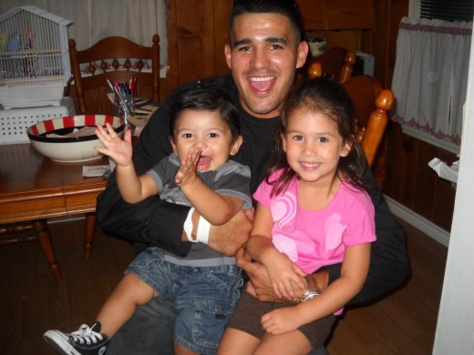 Anthony and kids