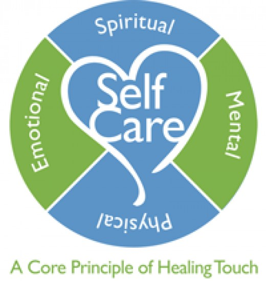 Healing Touch Self Care. Nourish yourself physically, emotionally, mentally and spiritually!
