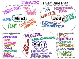 Self Care Plan!