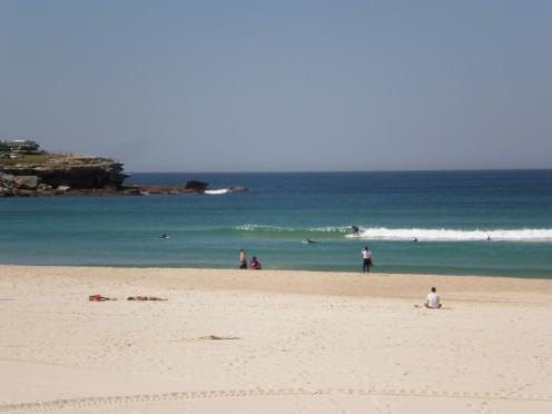 Famous surfing Bondi Beach, Sydney, New South Wales, Australia.