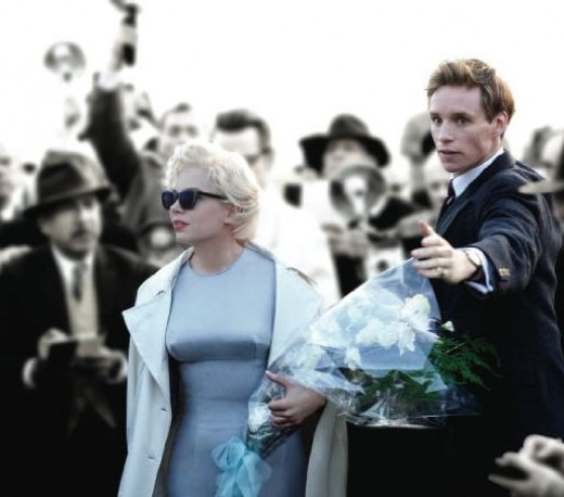 MM and Colin in the movie