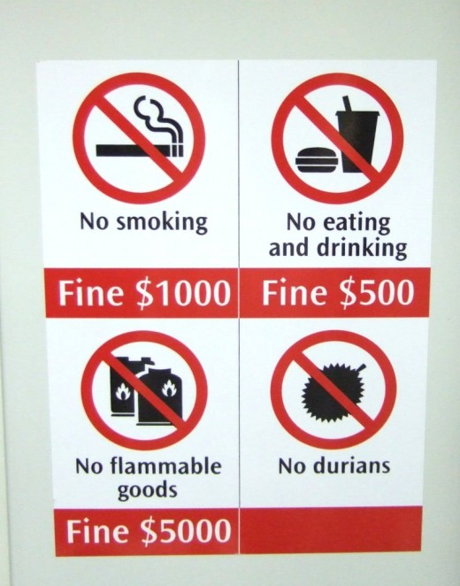 Durian banned in Singapore MRT