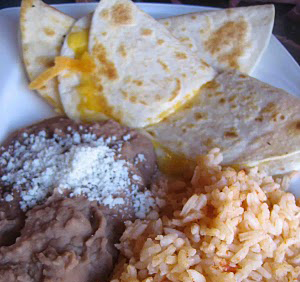 Luibueno's Mexican & Seafood Restaurant's Kid's Cheese Quesadilla,