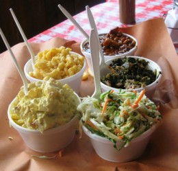 Selection BBQ Side Dishes