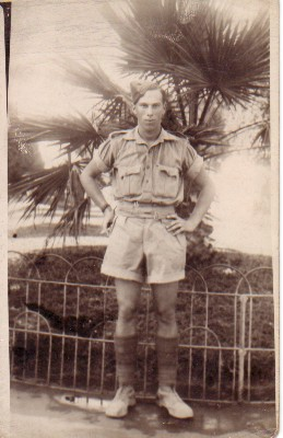 Dad in his 8th army uniform
