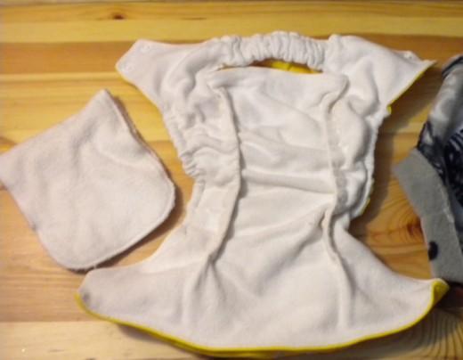 Inside of Pocket diaper