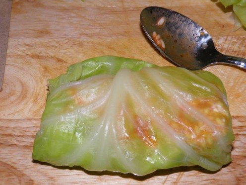 A Stuffed Cabbage Roll