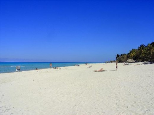 Varadero Beach is Cuba's main holiday resort