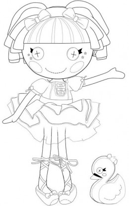 lala oopsies coloring pages   a lala loopsy Colouring Pages