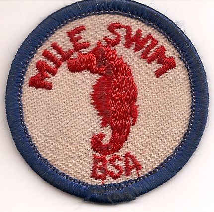 Brian's Mile Swim Badge