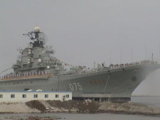 Soviet aircraft carrier Kiev