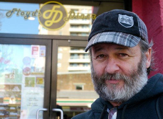 Richard Leblanc has traded places with a homeless man to raise awareness